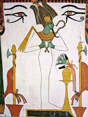Osiris couronné.