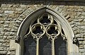 Detail of church of Holy Trinity R.C. in Brook Green in London, spring 2013 (1).JPG