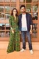 Dia Mirza and Mohit Raina snapped promoting Kaafir (2).jpg