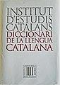 Diccionari de la llengua catalana de l'Institut d'Estudis Catalans.JPG