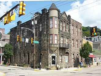 Dick Building - Dick Building, August 2011