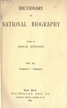 Dictionary of National Biography volume 20.djvu