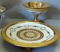 Dihl e guerhard, piattino e coppa con finiture in oro zecchino, 1790 ca..JPG