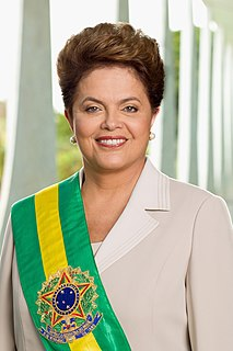 Dilma Rousseff 36th President of Brazil