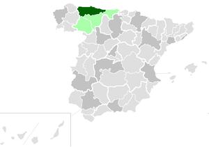 Roman Catholic Archdiocese of Oviedo - Image: Diocesisdeoviedo