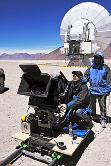 Shooting Of The Film Hidden Universe 3D With IMAX Camera