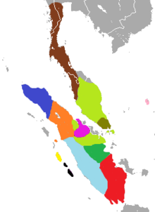 Distribution of Presbytis on Malay Peninsula and Sumatra.png