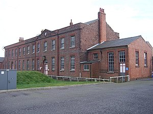 Priddy's Hard - Depot Offices and Storehouse (1811, extended 1920)