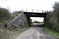 Disused railway bridge from below - geograph.org.uk - 712499.jpg