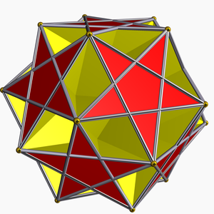 Pentagrammic cuploid - Image: Ditrigonal dodecadodecahedron