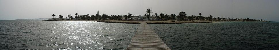 Djerba el mouradi menzel hotel from sea