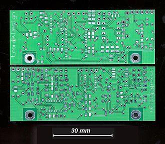 Via (electronics) - Image: Dldklpcb