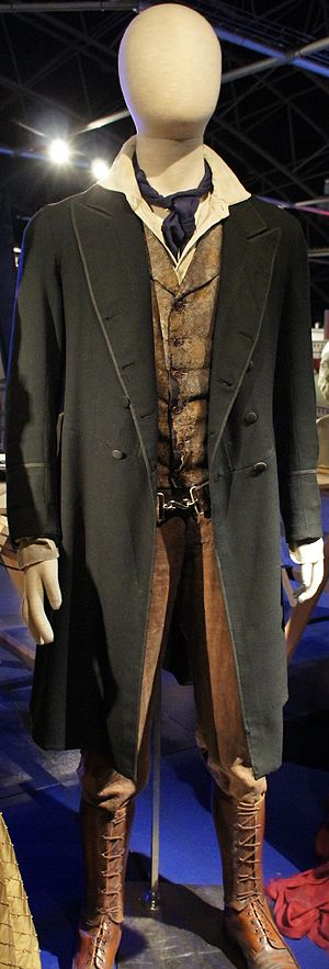 The Night of the Doctor - The Eighth Doctor's costume in this episode, on display at the Doctor Who Experience.