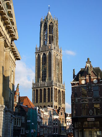 Jacob van Eyck - The remaining tower, 'De Domtoren', of the former Cathedral of Utrecht.