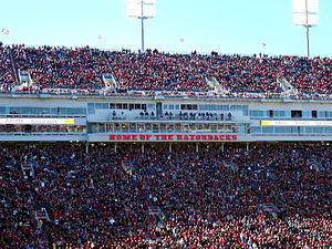 Donald W. Reynolds Razorback Stadium - Image: Donald W. Reynolds Razorback Stadium, LSU at Arkansas, 2012