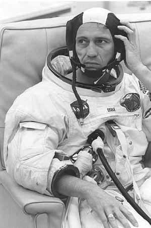 Donn F. Eisele - Eisele prior launching of Apollo 7