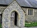 Doorway Llantysilio Church - geograph.org.uk - 1242888.jpg