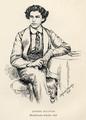 Dorofield Hardy - Arthur Sullivan, Mendelssohn Scholar, 1856.png