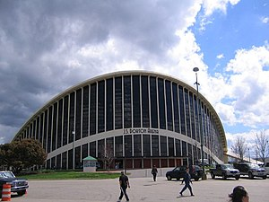 Maciej Nowicki (architect) - Dorton Arena in Raleigh designed by Nowicki