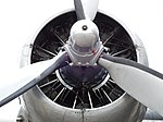 Douglas C-47B Skytrain, F-AZOX (4), engine.jpg