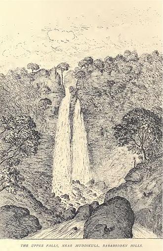 Douglas Hamilton - Upper falls near Muddikull, Bababooden hills