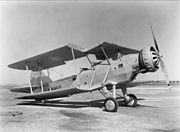 Douglas XT3D-1 with folded wing 1931