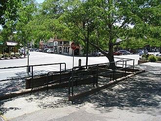 Fairfax, California - Downtown Fairfax (The Parkade)