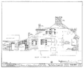 Drawing of the East Elevaton of the Felix Vallee House in Ste Genevieve MO.png