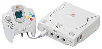 Dreamcast - North American Dreamcast with controller and VMU