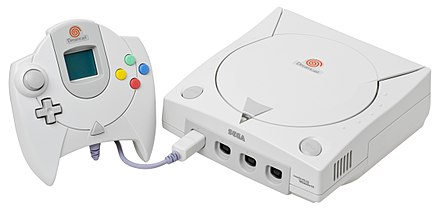 Phantasy Star Online was first released for the Dreamcast Dreamcast-Console-Set.jpg