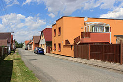 Drobovice, side street.jpg