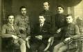 Drużyna harcerska z Orła n. Oką 1917 Witold Pilecki Witold Ferchmin.png