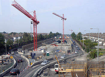 Tunnel du port de dublin wikip dia for Construction de tunnel