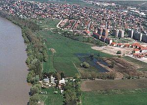 Dunakeszi - Dunakeszi from above