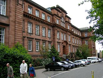 Dundee Law School - Image: Dundee University Scrymgeour