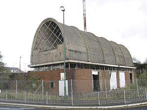 Dunlop Semtex rubber factory, Brynmawr - Image: Dunlop Semtex Site, Brynmawr geograph.org.uk 365566