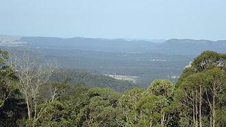 Duns Creek, New South Wales - Image: Duns Creek looking east zoomed