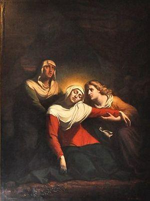 The Fainting of the Virgin