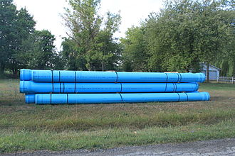 Plastic pipework - Unplasticized polyvinyl chloride pipe for underground water mains