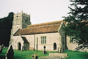 Durweston - Image: Durweston, parish church of St. Nicholas geograph.org.uk 505184
