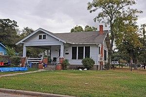 National Register of Historic Places listings in Brazos County, Texas - Image: E. J. BLAZEK HOUSE, BRYAN, BRAZOS COUNTY, TX