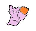 East Garo Hills Subdivisions Kharkutta