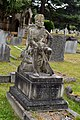 East Sheen Cemetery, African soldier, William Rennie O'Mahony grave.jpg