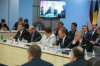 Eastern Partnership - Image: Eastern Partnership Summit 22 05 2015 2772