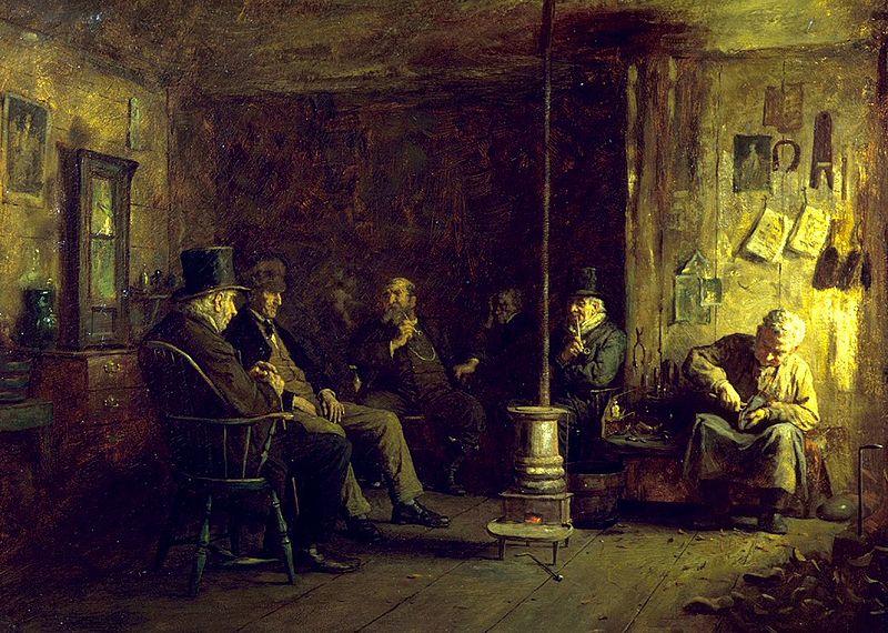 File:Eastman Johnson - The Nantucket School of Philosophy - Walters 37311.jpg