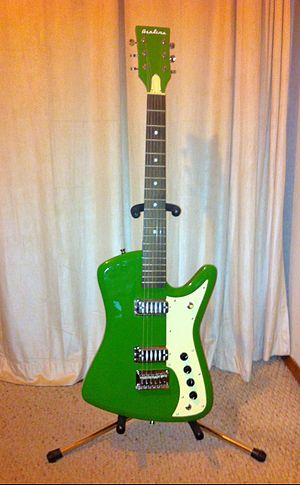 Eastwood Guitars - 2012 Eastwood Airline Bighorn electric guitar