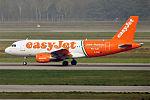EasyJet (Linate Fiumicino Livery), G-EZIW, Airbus A319-111 (25978904663).jpg