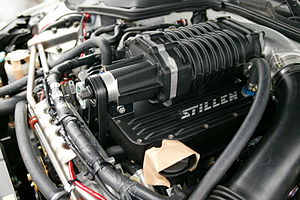 Stillen - Supercharger (Eaton MP62) kit for 350Z