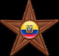 Ecuador Barnstar Flag orbs.png