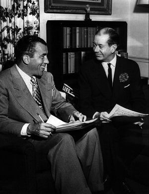 Ed Sullivan - Sullivan with Cole Porter on Toast of the Town in 1952